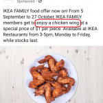 IKEA's chicken wings